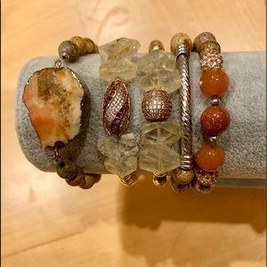 Jewelry - ✨5 in 1 Beaded and Stone Bracelet ✨